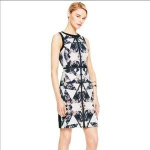 Vince Camuto Graphic Print Sheath Dress